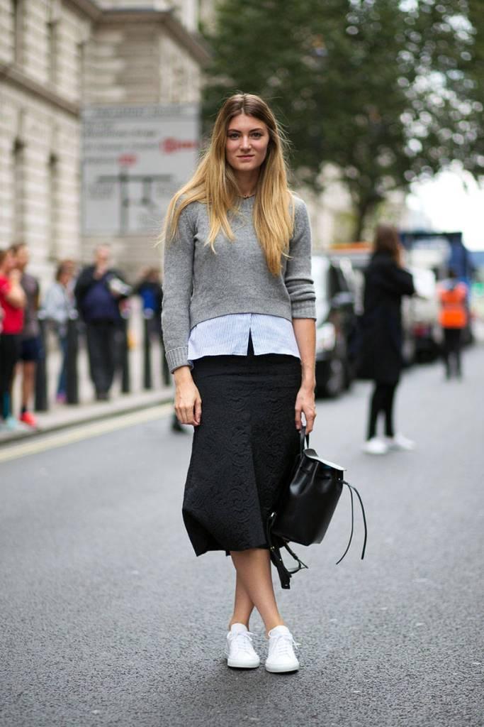 Megan-Reynolds-Harper's-Bazaar-Lia-Jacquard-skirt-LFW