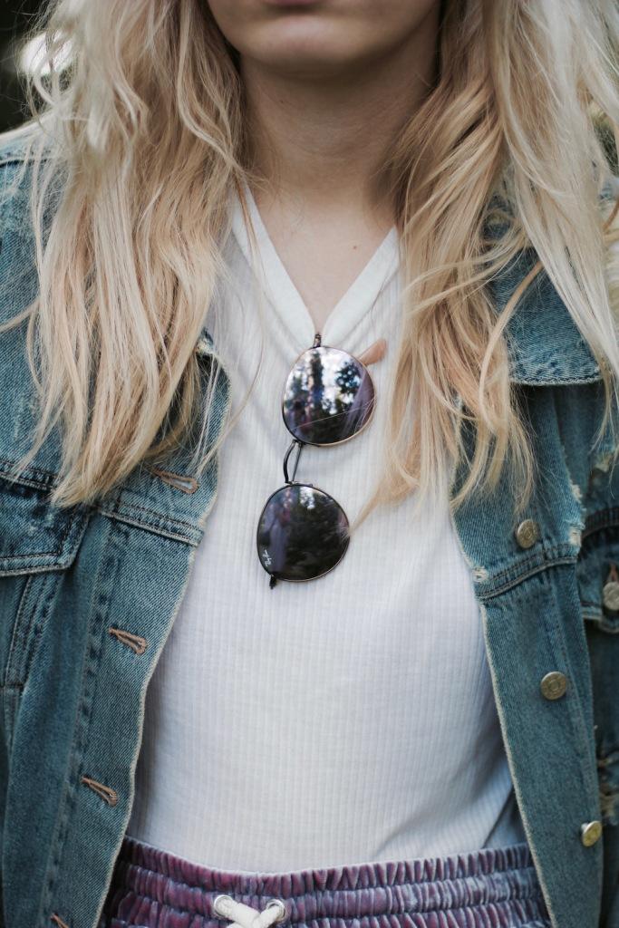 Style-by-Marie-Fashionblog-Berlin-Weekday-Samtshorts-Jeansjacke-6